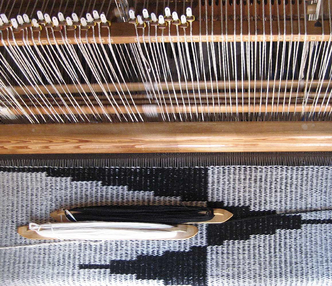 3. Pennons weaving in progress.jpg