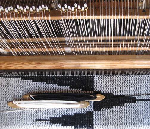 3. Pennons weaving in progress.jpg