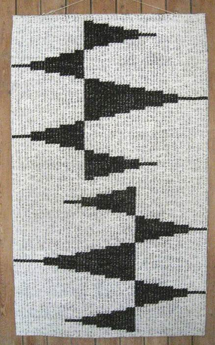 4. 'Pennons' rug designed by Giles Round