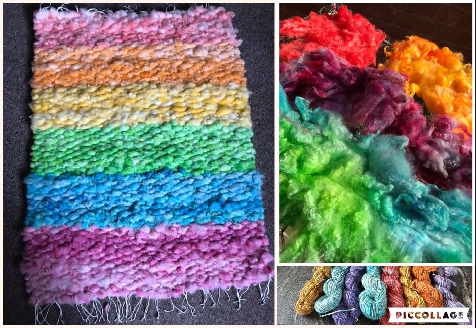 Collage rainbows
